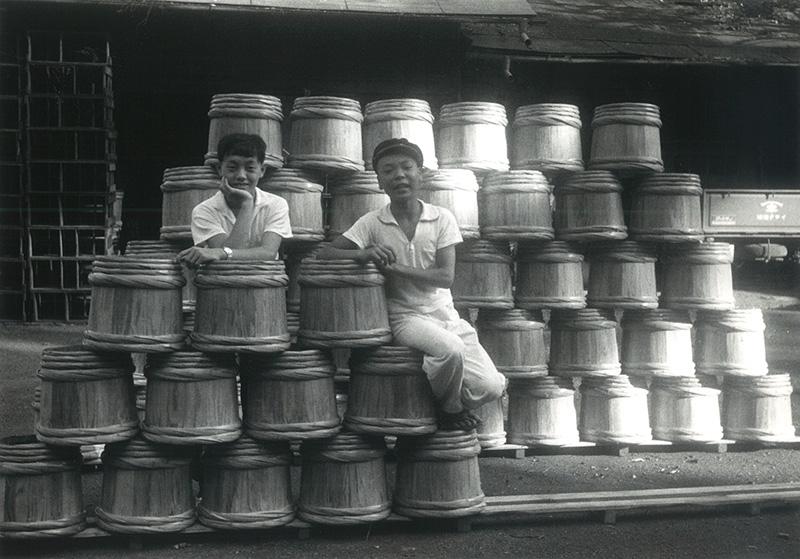 昭和30年頃の桜井醤油店