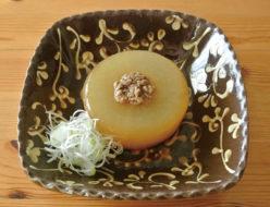 桜井花筵堂すき焼割り下で大根の煮物