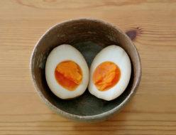 桜井花筵堂これぞ東村山うどんつゆで味付け卵
