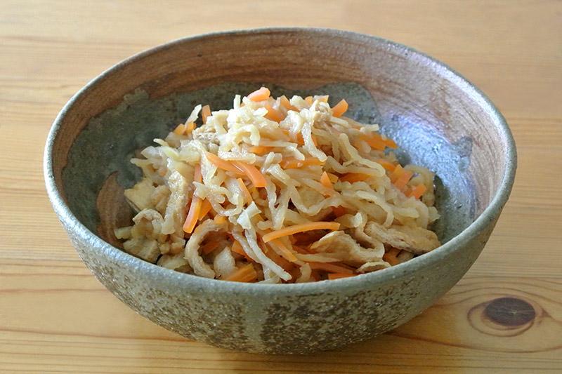 桜井花筵堂これぞ東村山うどんつゆで切り干し大根の煮物